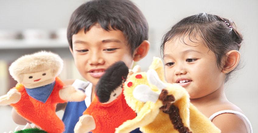 Çocukların Gelişiminde Kuklalarla Oyunlar
