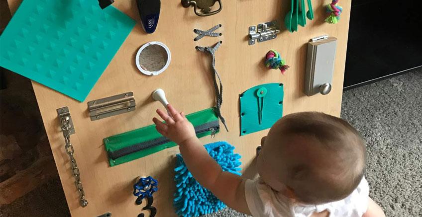 Ev Eşyaları İle Bebeklere Yönelik Aktiviteler