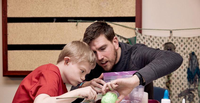 Engelli Çocuklara Öğrenmelerine Yardım ve Destek
