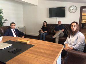 Dilgem ve Atlas Üniversitesi  Ortak Projeler Üzerinde Çalışmaya Başladı